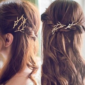 (Set of 2) Branches Hair Clip Pins